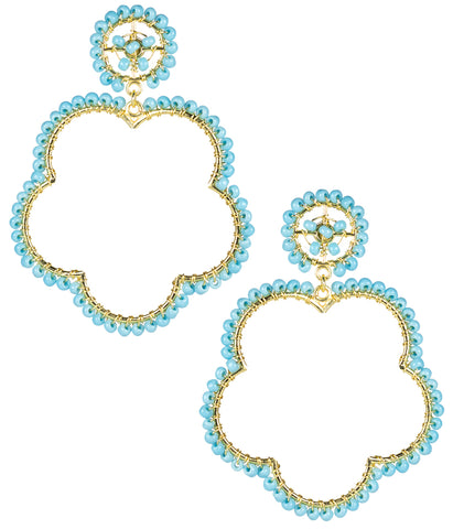 Bobbi Earrings- Turquoise