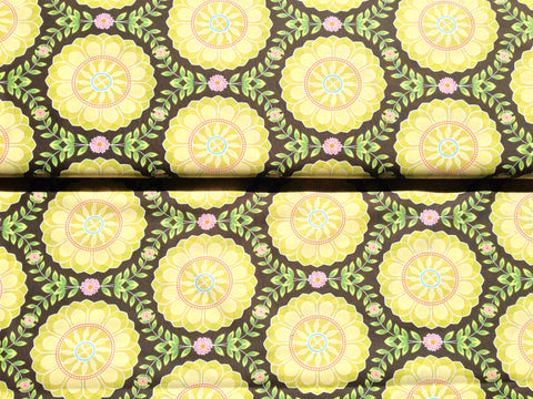 Dahlia Medallions by Michael Miller Fabrics