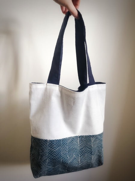 Beginner Sewing Class - Reversible Lined Tote Bag