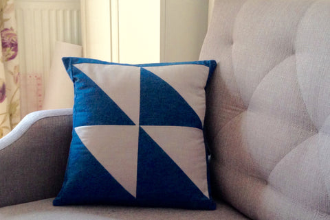 Beginner Sewing Class - Patchwork Cushion Workshop
