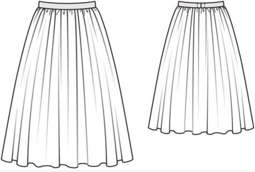 Introduction to Dressmaking - The Self-drafted Gathered Skirt - 13th and 20th October