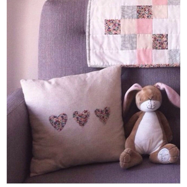 Applique Cushion Sewing Class- Saturday 25th January 10am-1pm