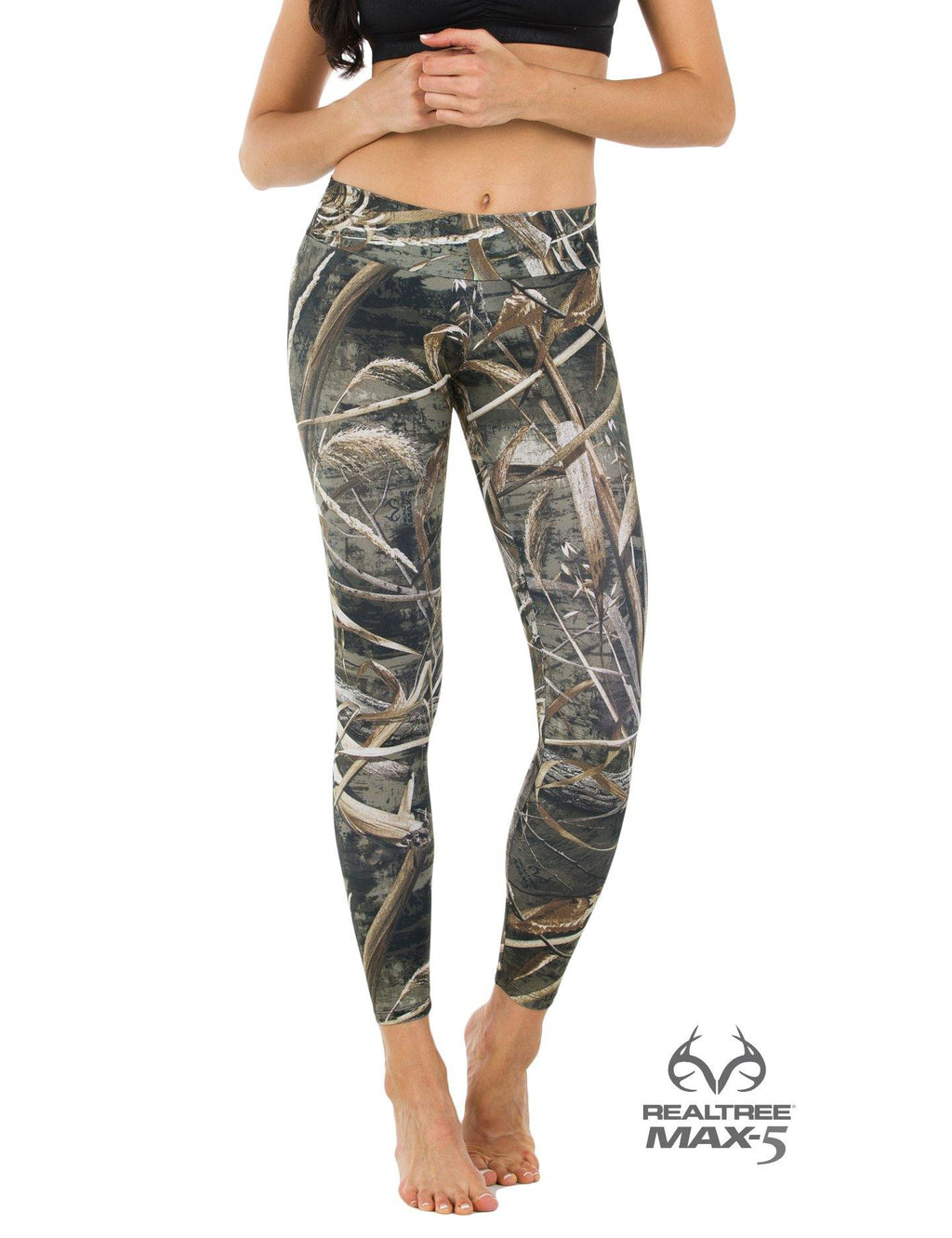 Apsara Leggings Low Waist Full Length, Realtree Max-5