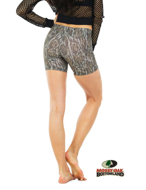 Apsara Shorts Low Waist, Mossy Oak Bottomland
