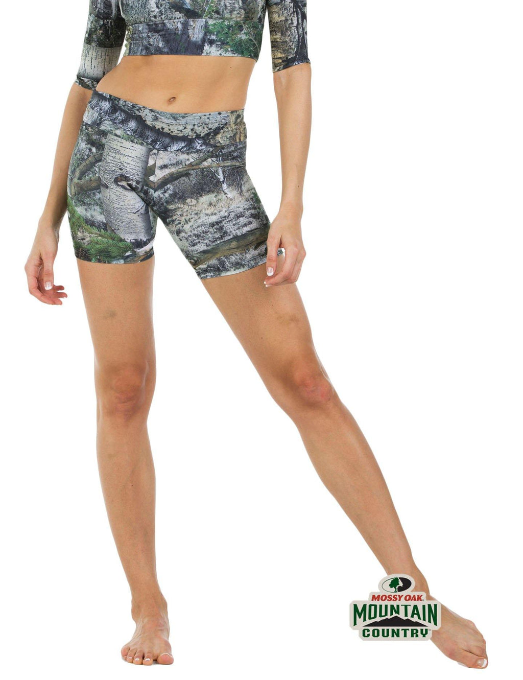 Apsara Shorts Low Waist, Mossy Oak Mountain Country - Apsara Style
