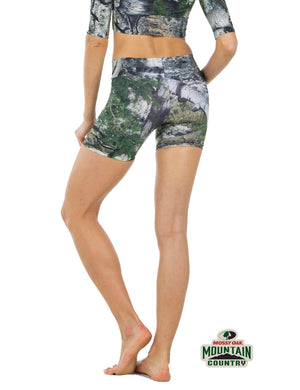 Apsara Shorts Low Waist, Mossy Oak Mountain Country