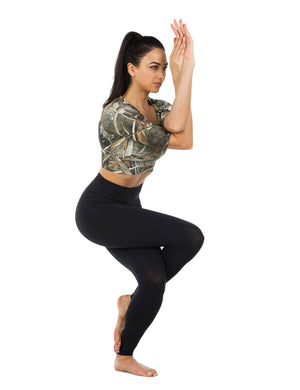 Apsara Cropped Top, Realtree Max-5
