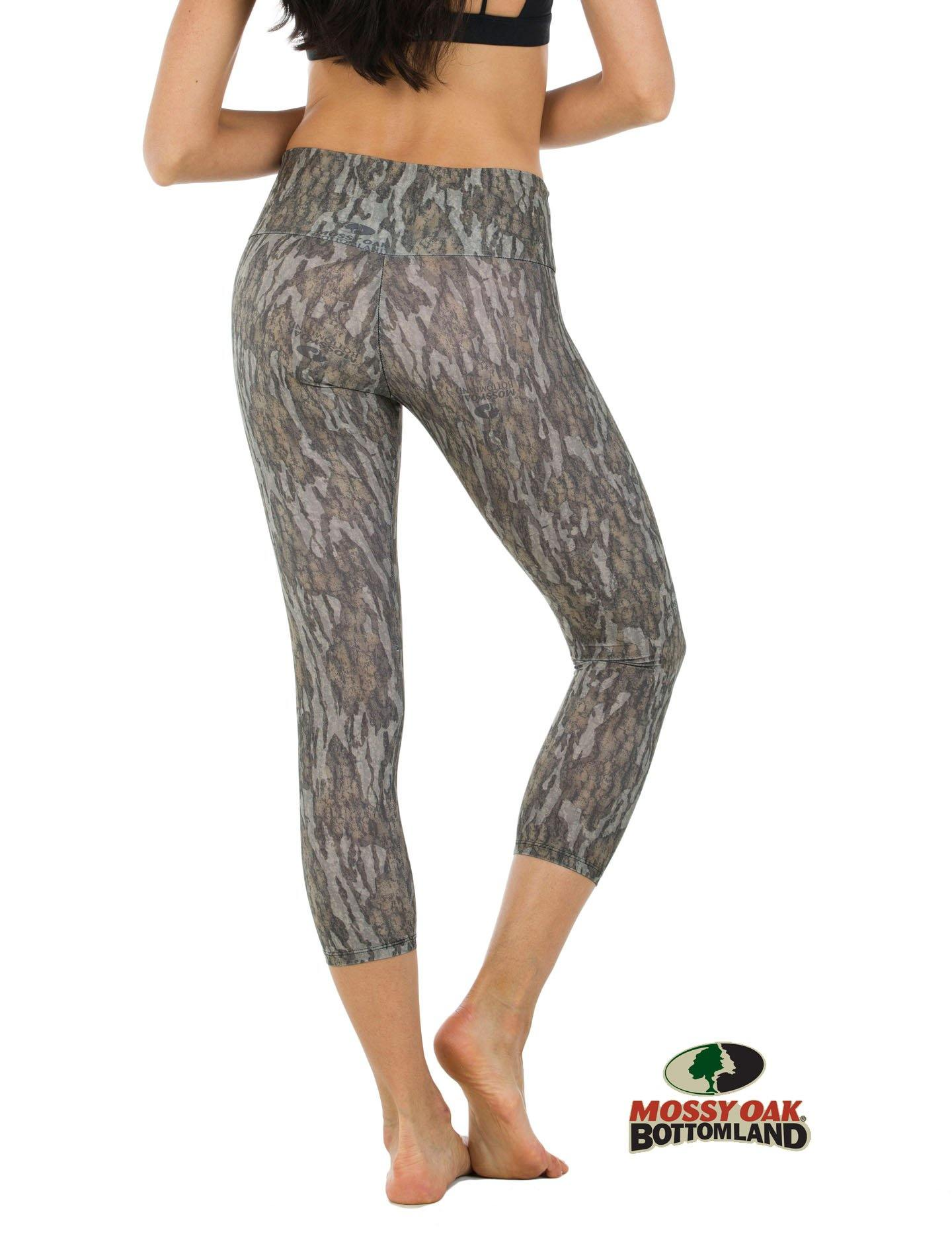 Apsara Leggings High Waist Cropped, Mossy Oak Bottomland