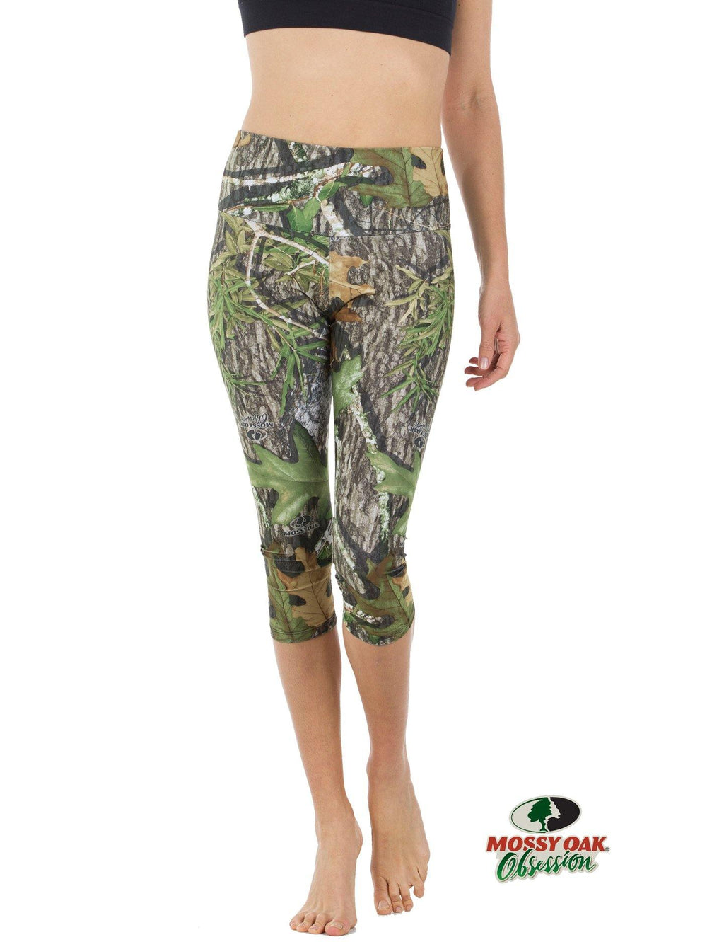 Apsara Leggings High Waist Capri, Mossy Oak Obsession