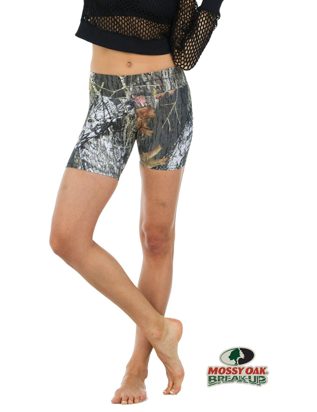 Apsara Shorts Low Waist, Mossy Oak Break-Up