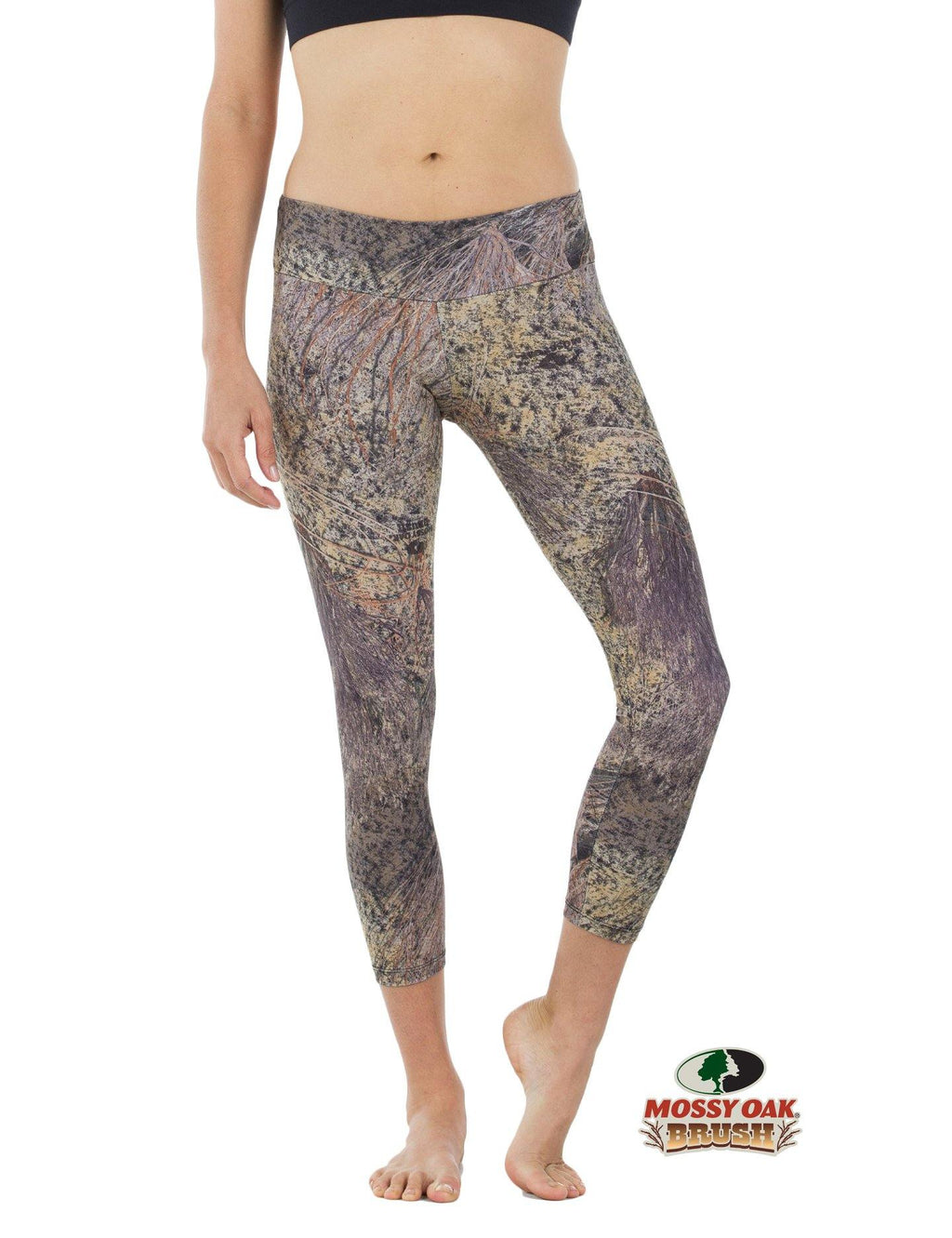 Apsara Leggings Low Waist Cropped, Mossy Oak Brush - Apsara Style