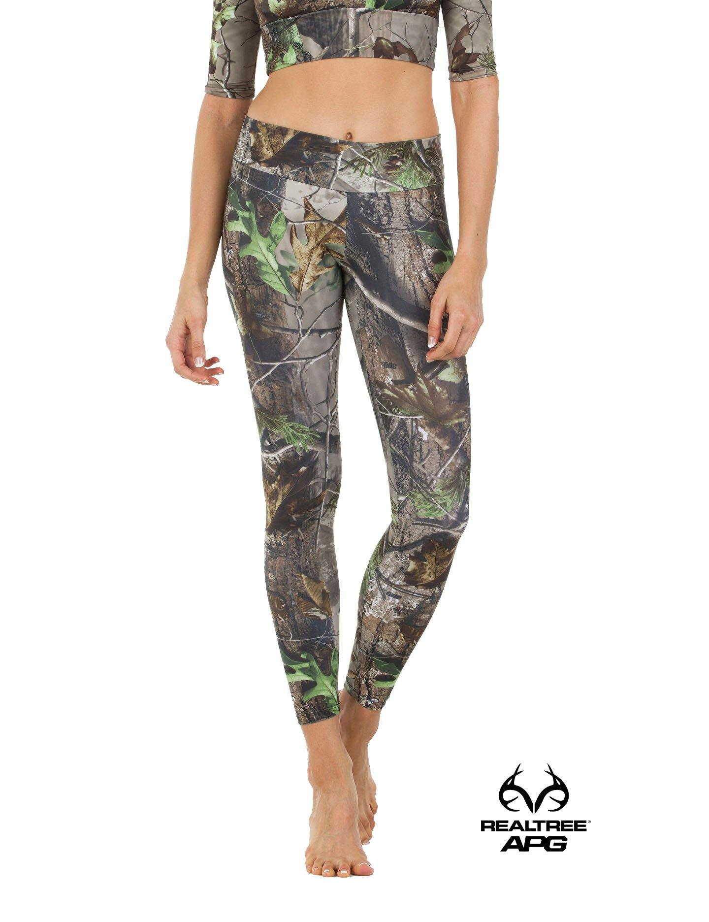 Apsara Leggings Low Waist Full Length, Realtree APG