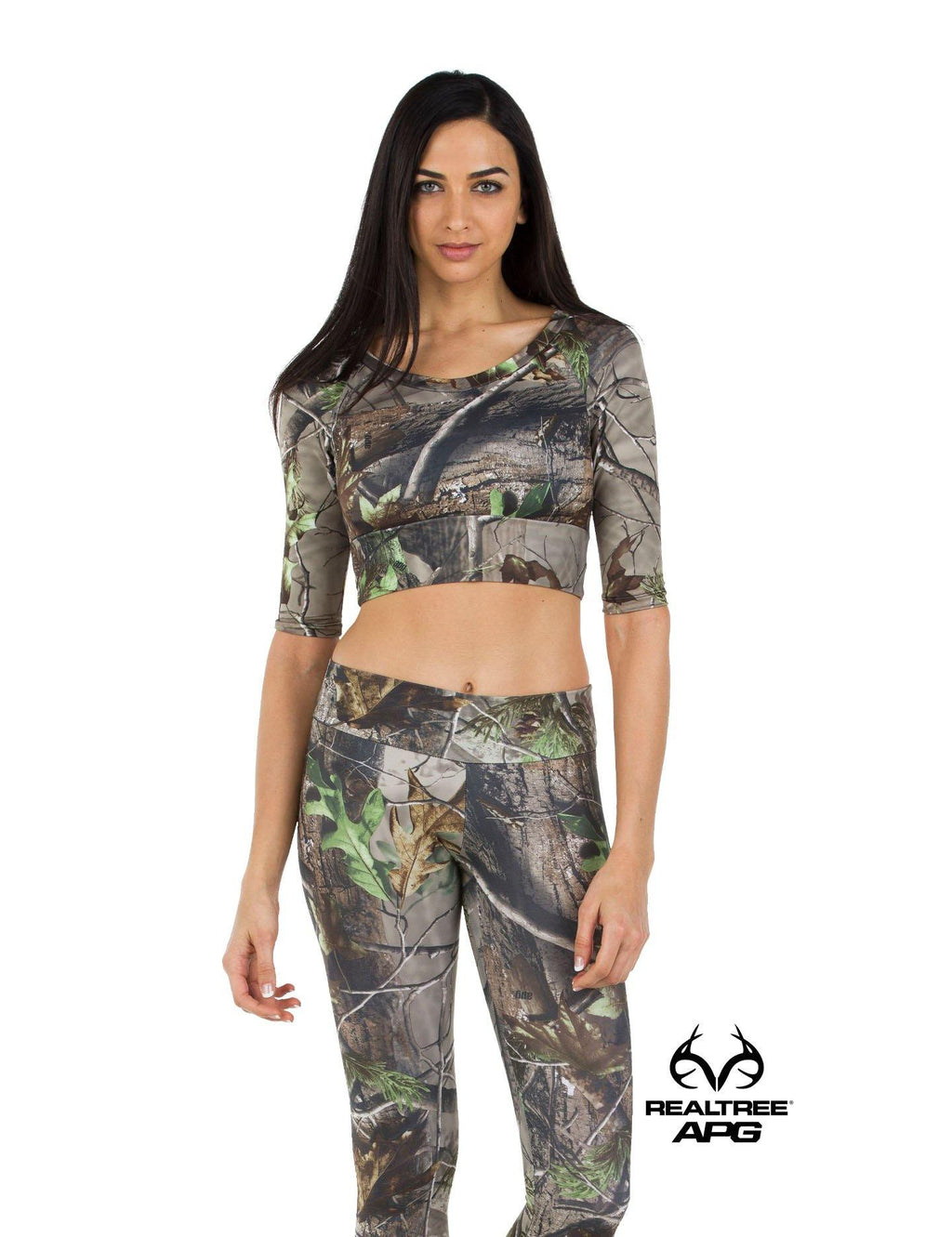 Apsara Cropped Top, Realtree APG
