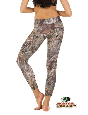 Apsara Leggings Low Waist Full Length, Mossy Oak Duck Blind