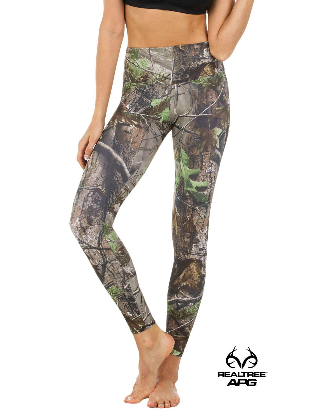 Apsara Leggings High Waist Full Length, Realtree APG