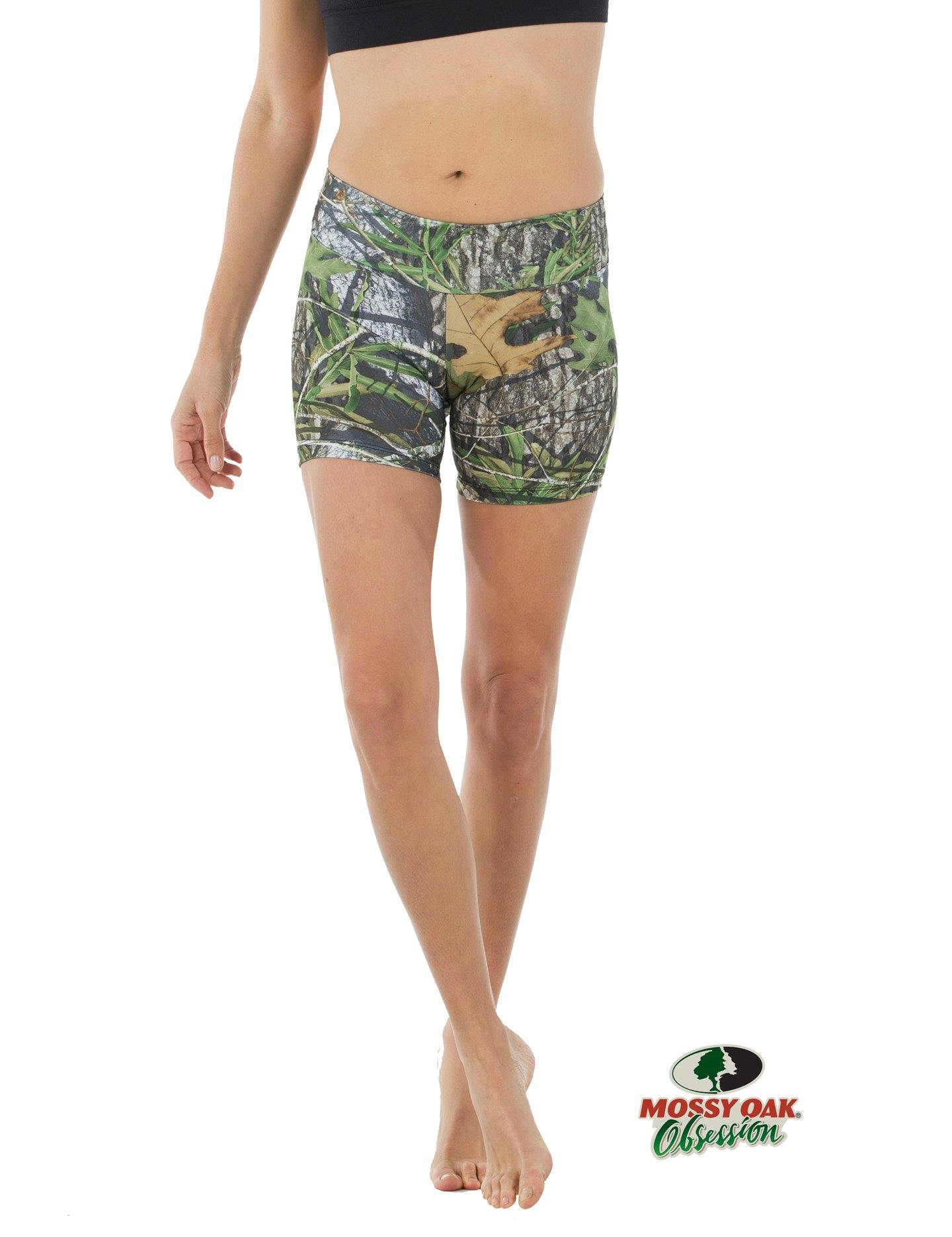 Apsara Shorts Low Waist, Mossy Oak Obsession