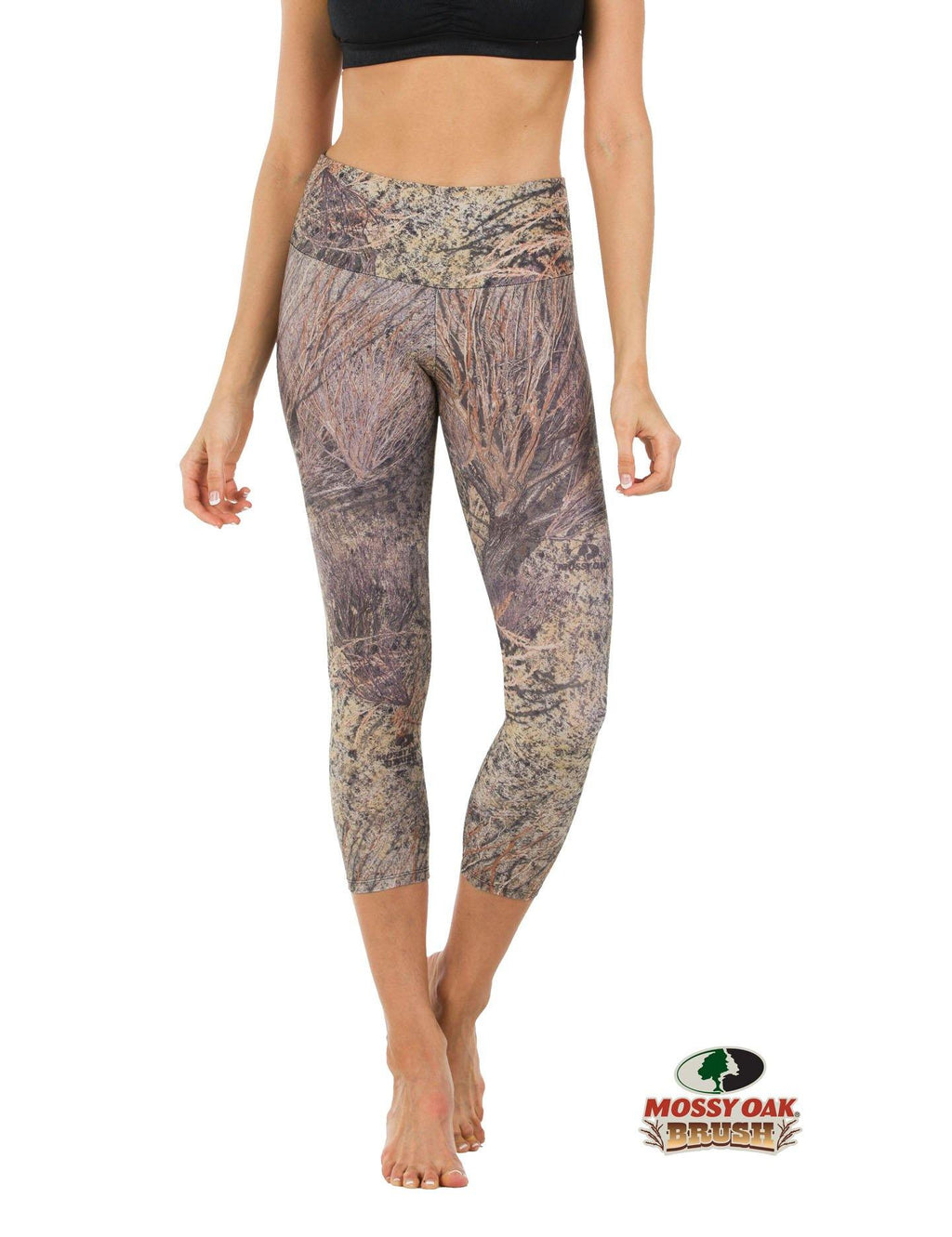 Apsara Leggings High Waist Cropped, Mossy Oak Brush - Apsara Style