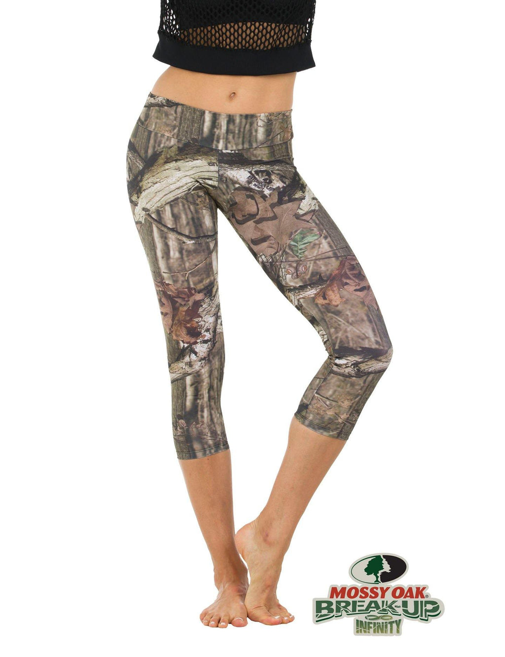 Apsara Leggings Low Waist Capri, Mossy Oak Break-Up Infinity