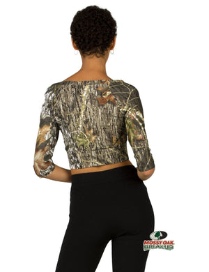 Apsara Cropped Top, Mossy Oak Break-Up