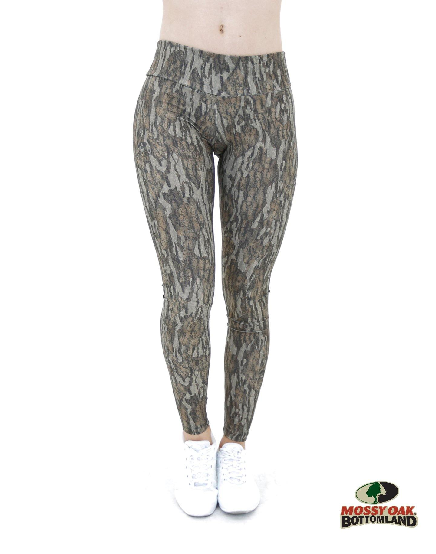 Apsara Leggings Low Waist Full Length, Mossy Oak Bottomland