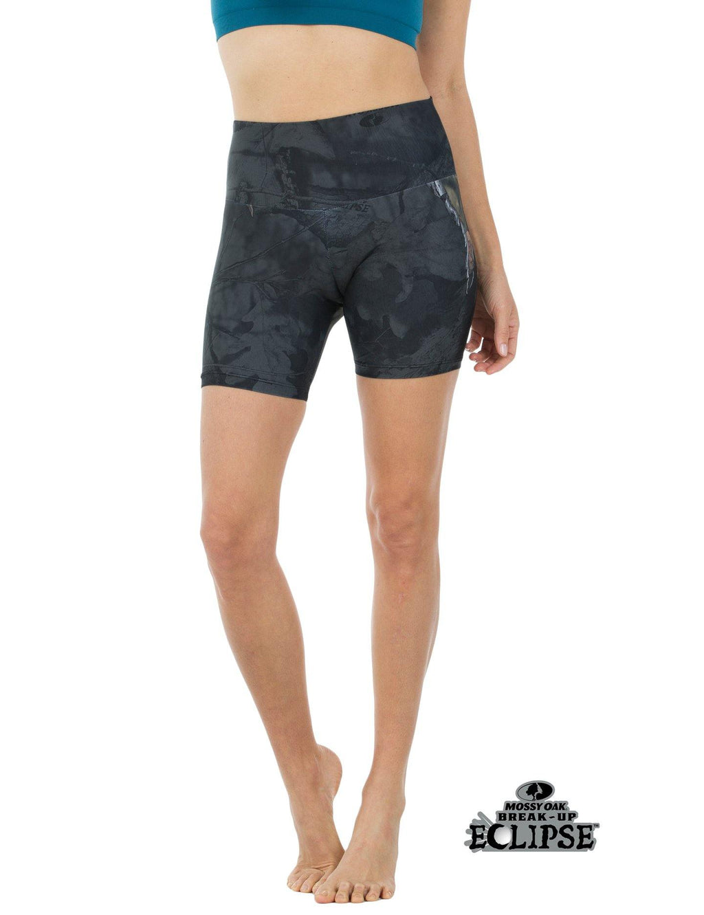 Apsara Shorts High Waist, Mossy Oak Break-Up Eclipse
