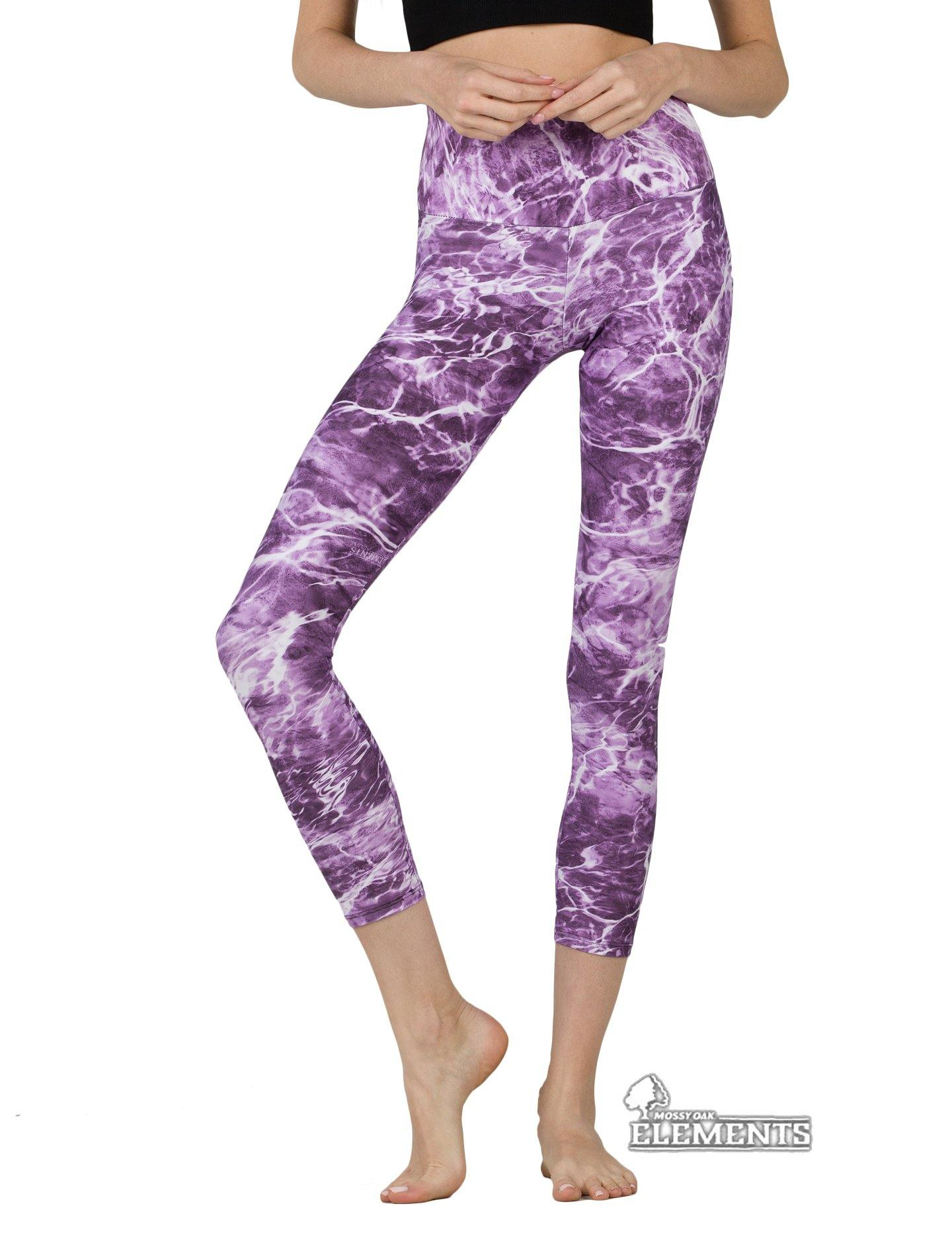 Apsara Leggings High Waist Cropped, Mossy Oak Elements Man-o-War