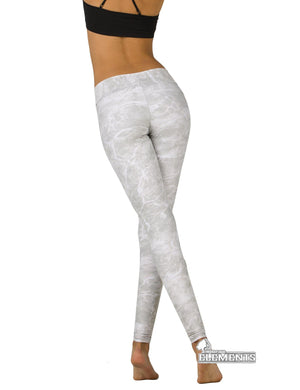 Apsara Leggings Low Waist Full Length, Mossy Oak Elements Bonefish
