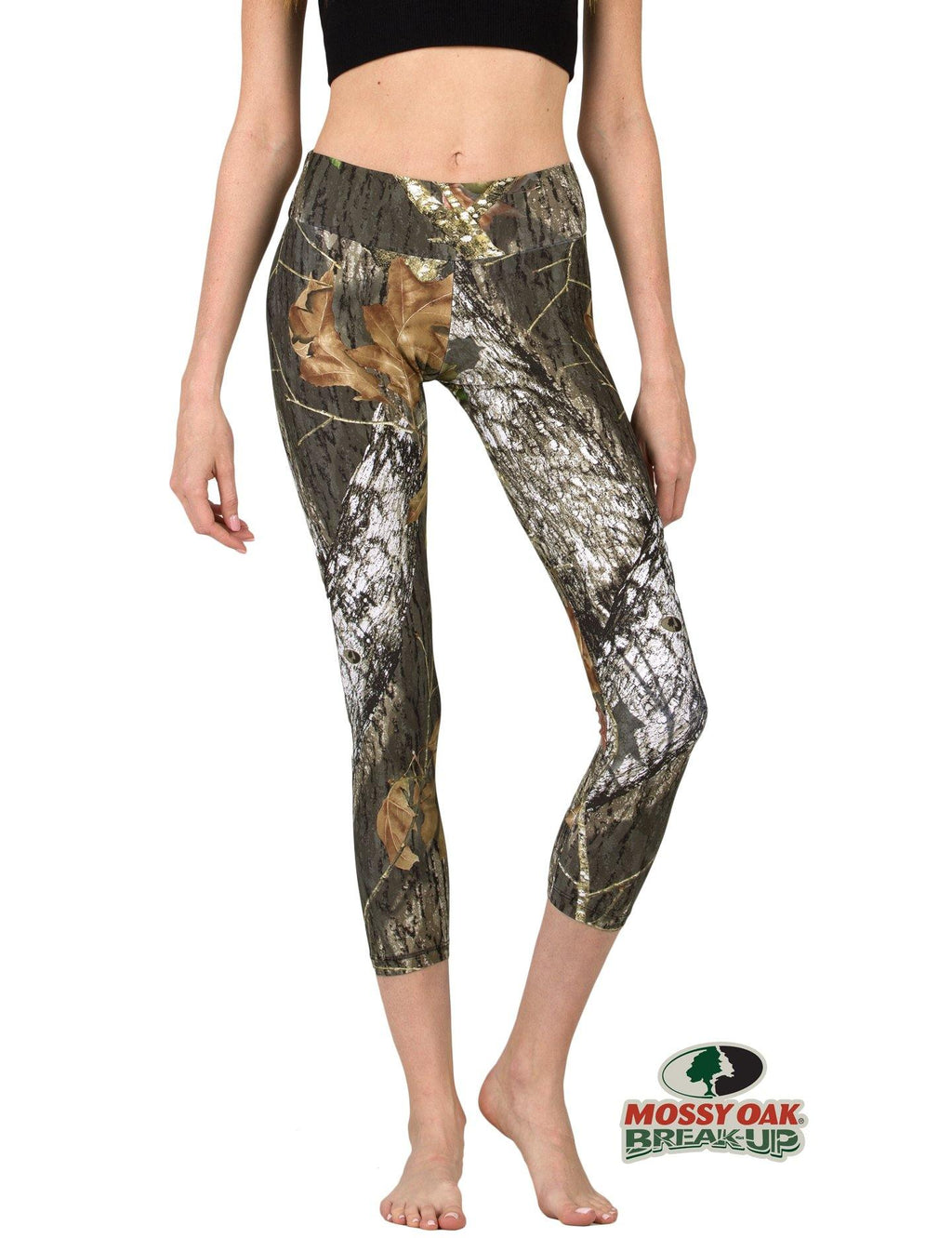 Apsara Leggings Low Waist Cropped, Mossy Oak Break-Up - Apsara Style