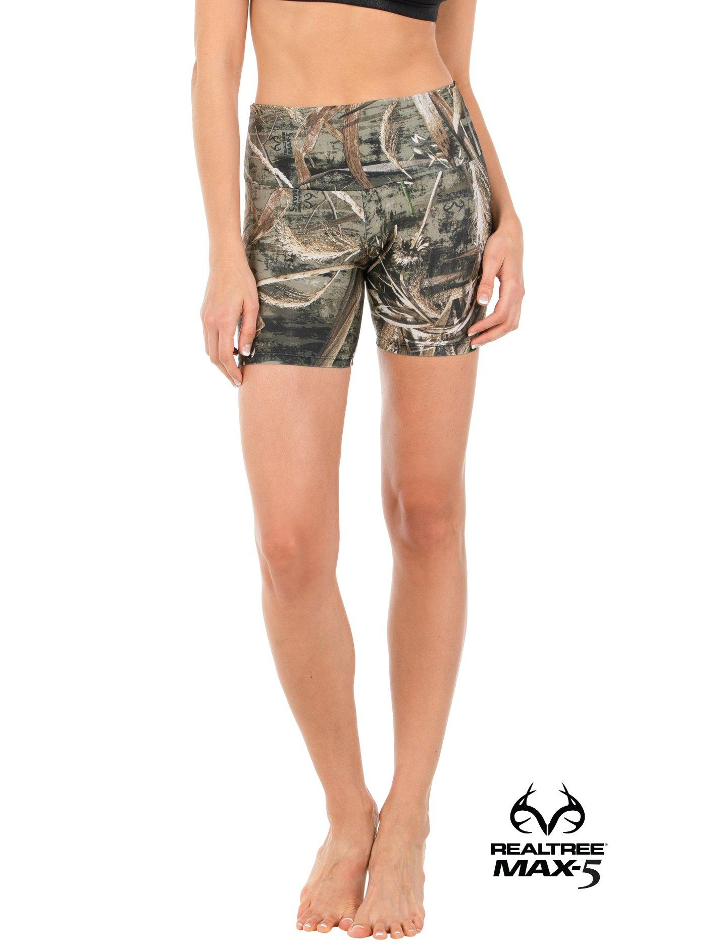 Apsara Shorts High Waist, Realtree Max-5
