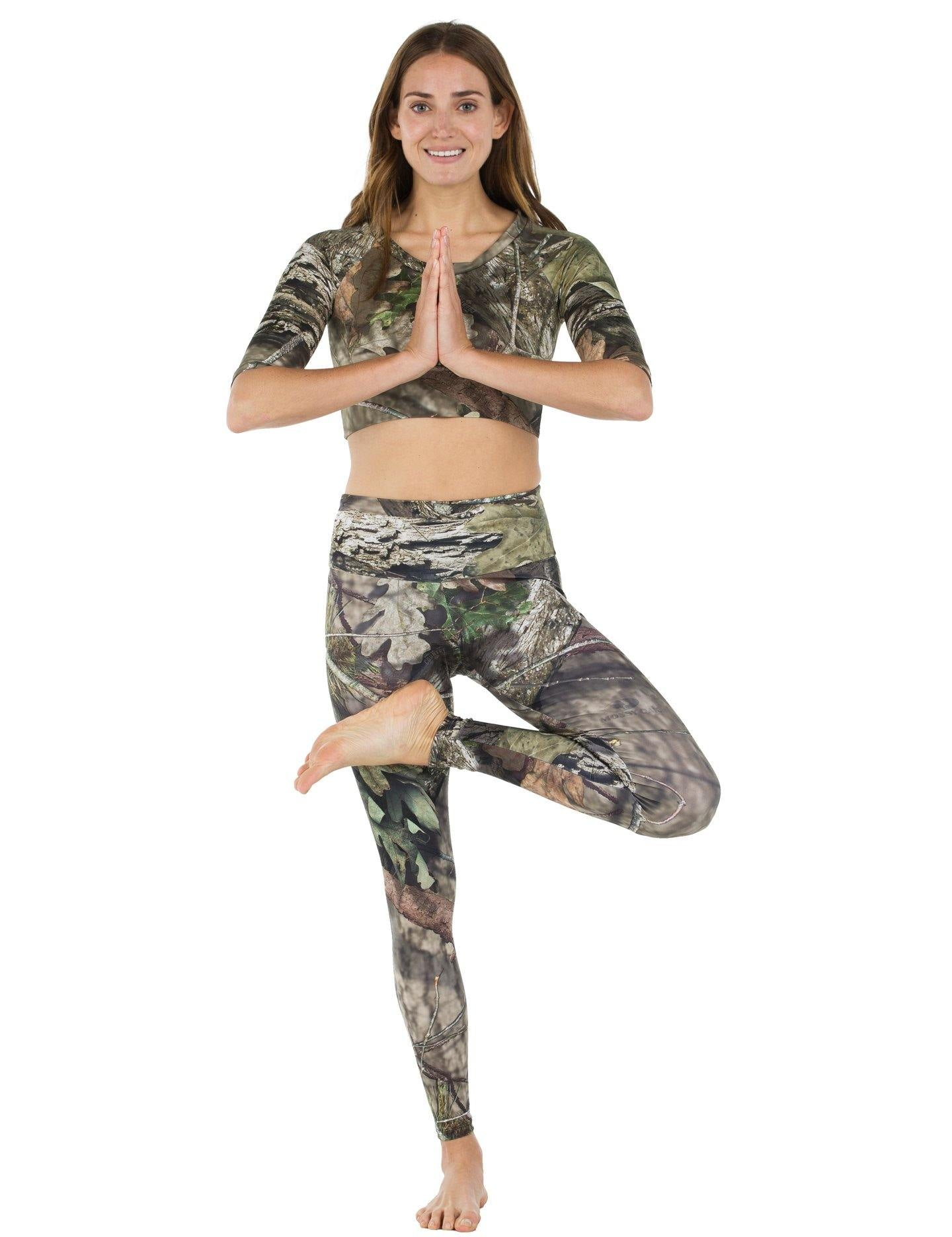 Apsara Leggings High Waist Full Length, Mossy Oak Break-Up Country - Apsara Style