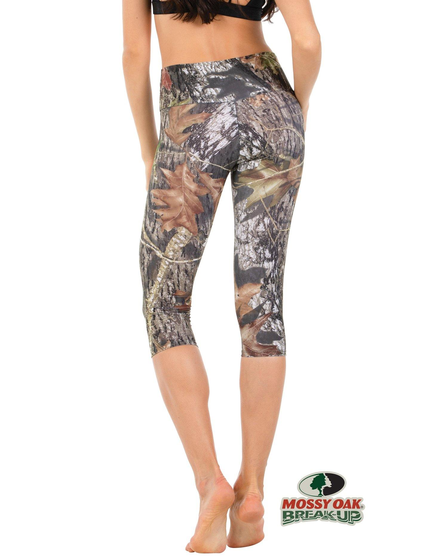 Apsara Leggings High Waist Capri, Mossy Oak Break-Up