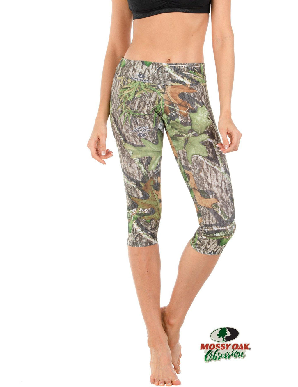 Apsara Leggings Low Waist Capri, Mossy Oak Obsession