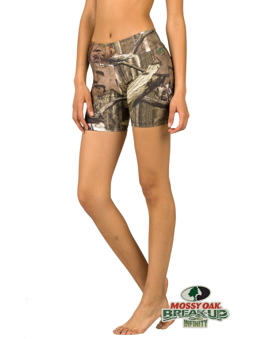 Apsara Shorts Low Waist, Mossy Oak Break-Up Infinity