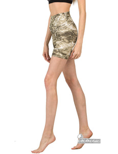 Apsara Shorts High Waist, Mossy Oak Elements Sandcrab
