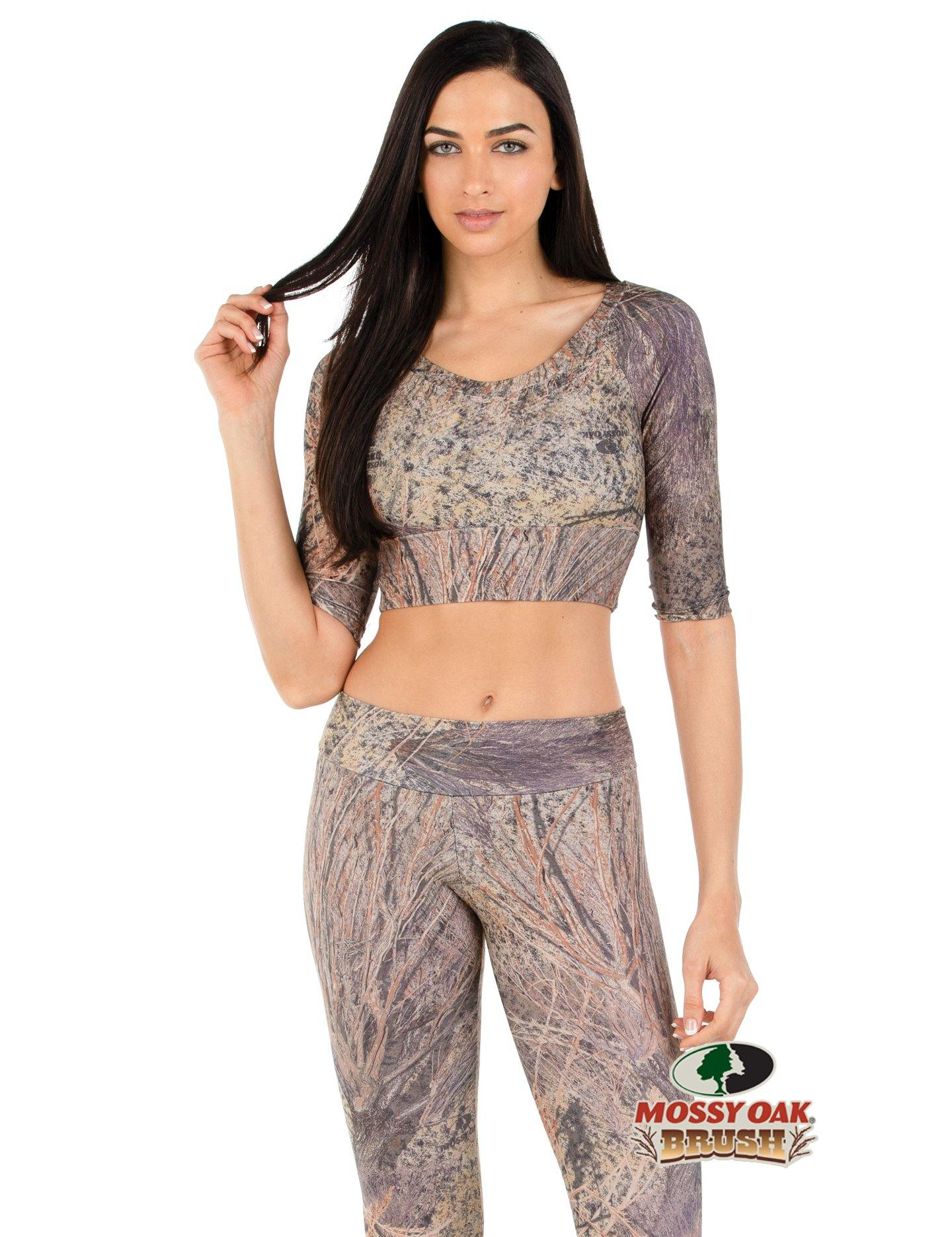 Apsara Cropped Top, Mossy Oak Brush