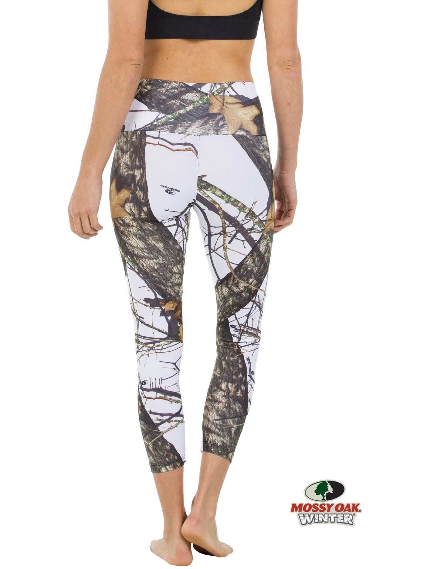 Apsara Leggings High Waist Cropped, Mossy Oak Break-Up Winter - Apsara Style