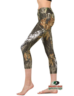 Apsara Leggings Low Waist Cropped, Mossy Oak Break-Up