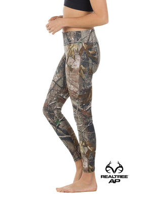 Apsara Leggings Low Waist Full Length, Realtree AP