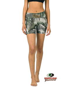 Apsara Shorts Low Waist, Mossy Oak Treestand