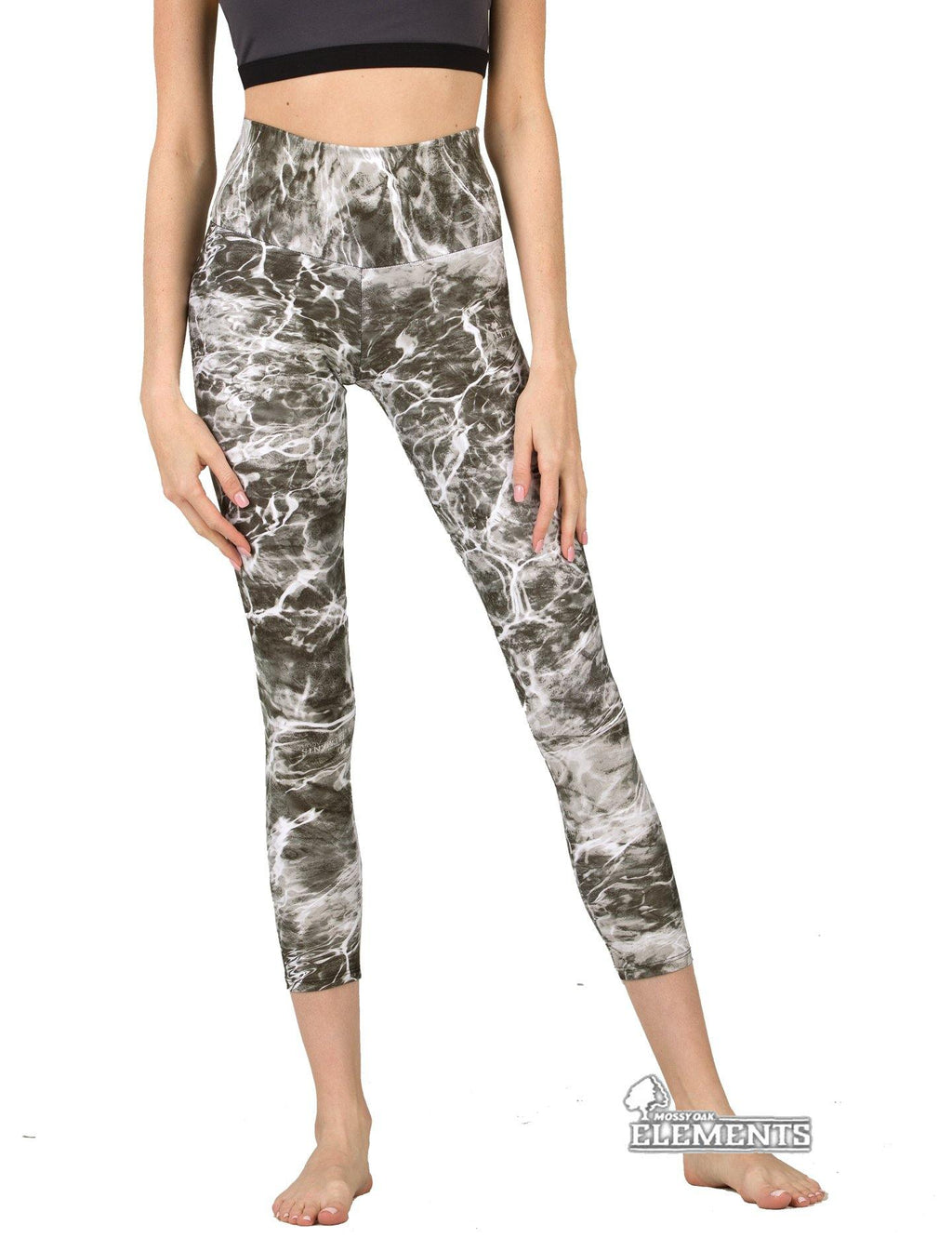 Apsara Leggings High Waist Cropped, Mossy Oak Elements Manta - Apsara Style