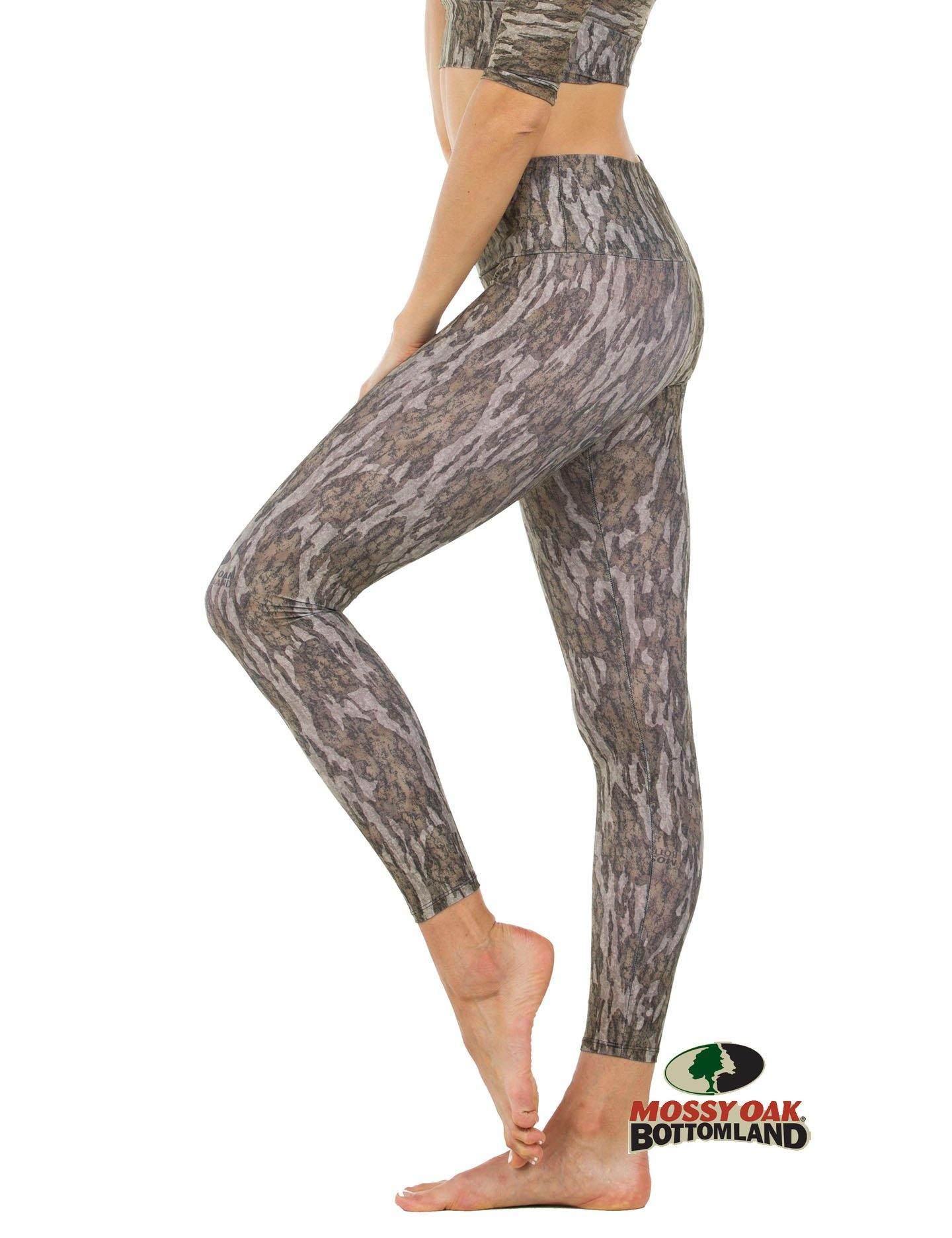 Apsara Leggings High Waist Full Length, Mossy Oak Bottomland