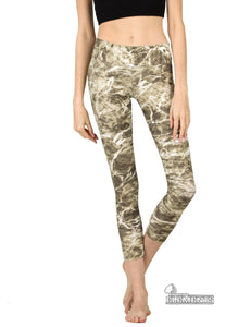 Apsara Leggings Low Waist Cropped, Mossy Oak Elements Sandcrab - Apsara Style