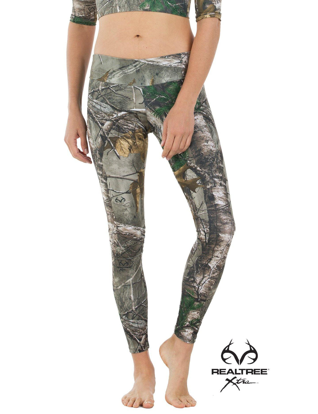 Apsara Leggings Low Waist Full Length, Realtree Xtra - Apsara Style