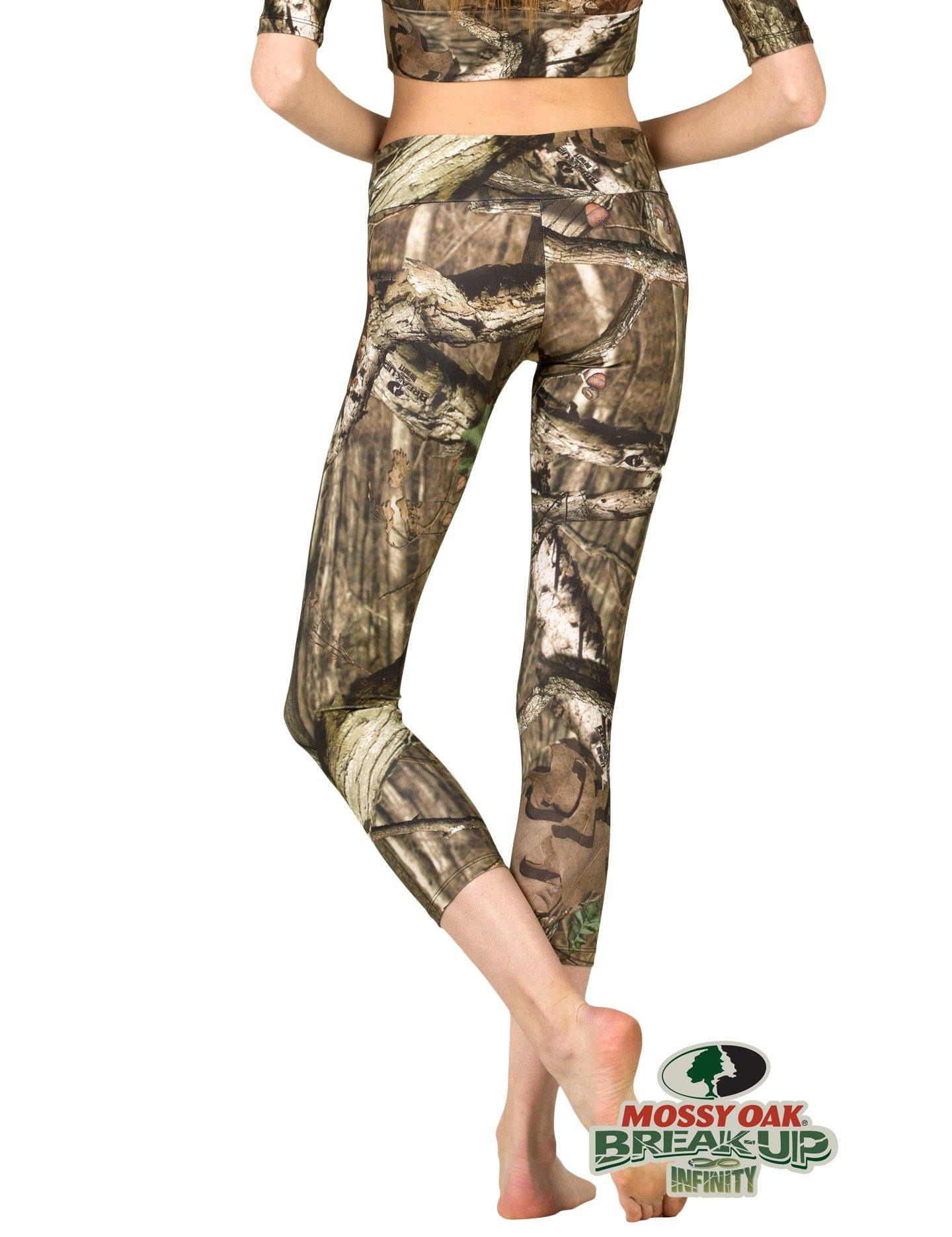 Apsara Leggings Low Waist Cropped, Mossy Oak Break-Up Infinity