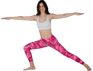 Apsara Leggings Low Waist Full Length, Mossy Oak Elements Anemone
