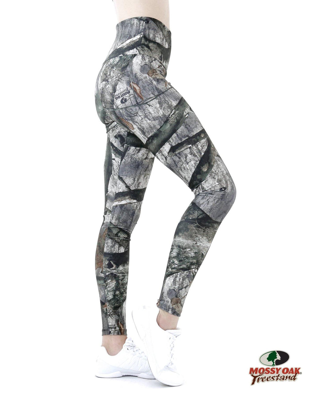 Apsara Leggings High Waist Full Length, Mossy Oak Treestand