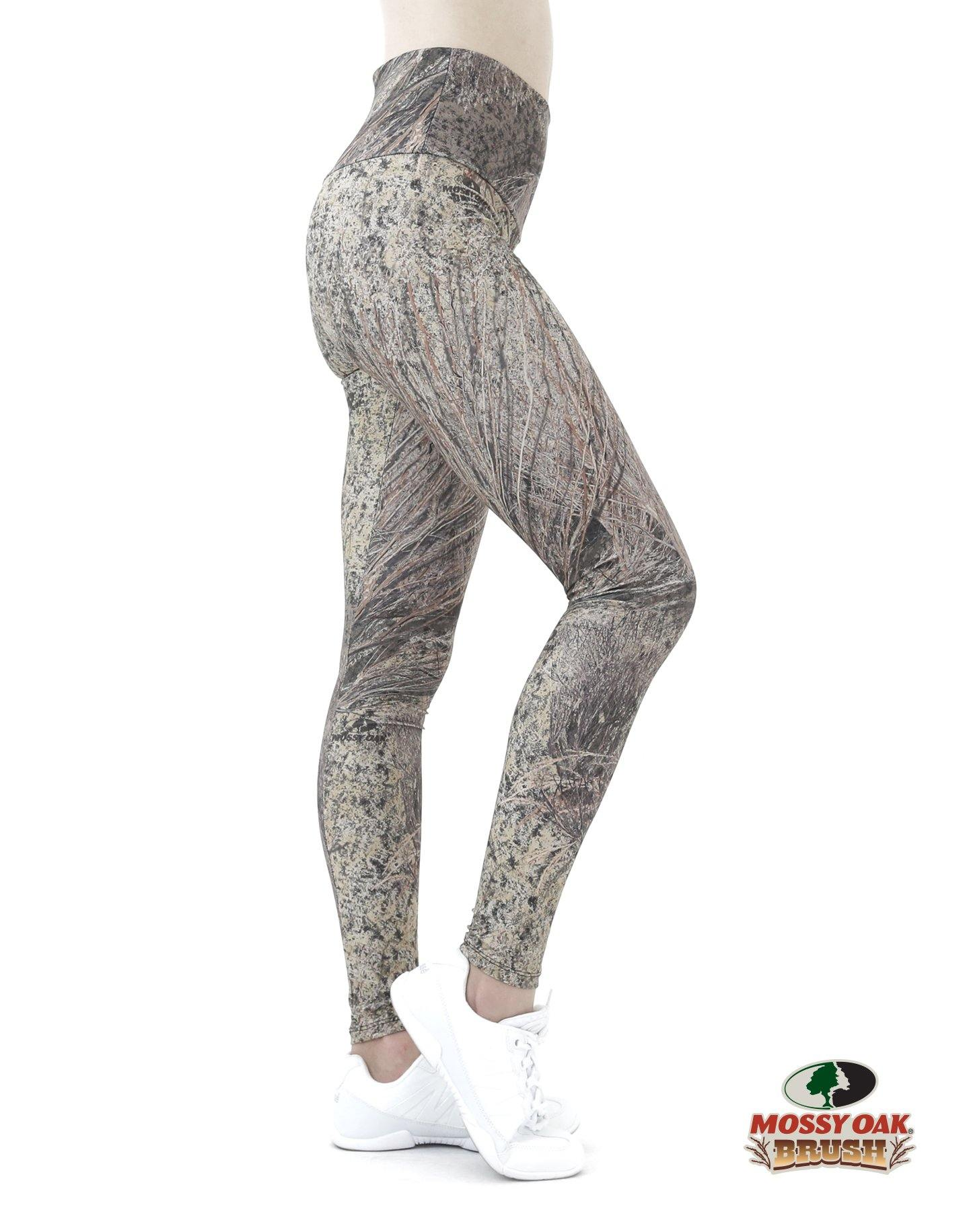 Apsara Leggings High Waist Full Length, Mossy Oak Brush