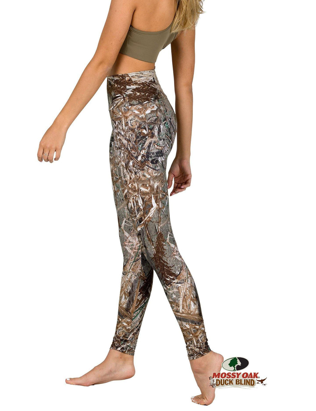 Apsara Leggings High Waist Full Length, Mossy Oak Duck Blind