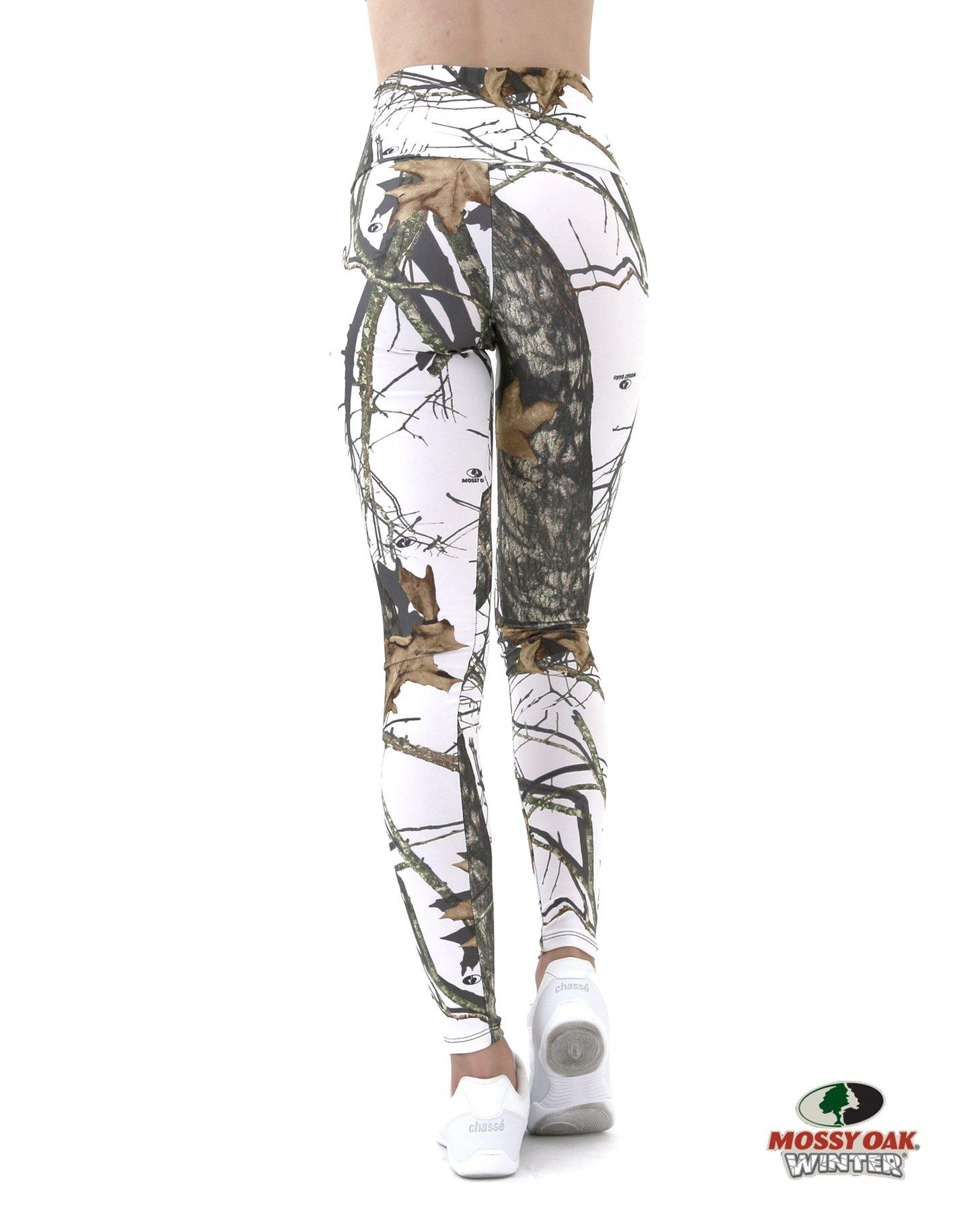 Apsara Leggings High Waist Full Length, Mossy Oak Break-Up Winter