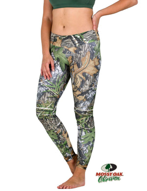 Apsara Leggings Low Waist Full Length, Mossy Oak Obsession